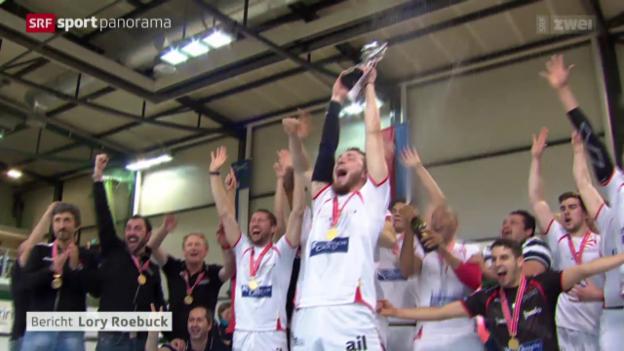 Video «Volleyball: «Finalissima» Lugano - Lausanne» abspielen