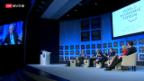 Video «EU-Debatte am WEF entflammt» abspielen