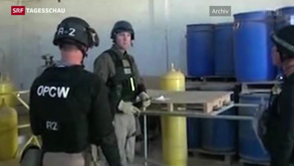 Syrische Giftgas-Fabriken sind ausser Betrieb