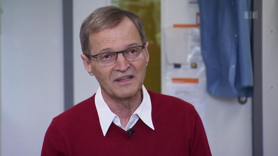 Impfstoff-Experte Daniel Speiser: «Wir haben bedenken, dass es zu schnell geht.»