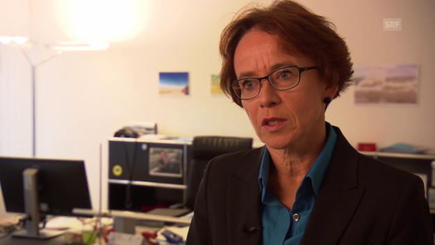 Video «Eva Herzog zum Thema Zweitwohnsitz» abspielen