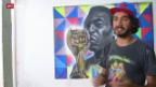 Video «FIFA WM: Strassenkünstler in Sao Paulo» abspielen