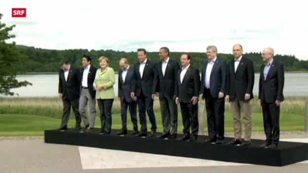 Video «G8 wollen Übergangsregierung für Syrien» abspielen