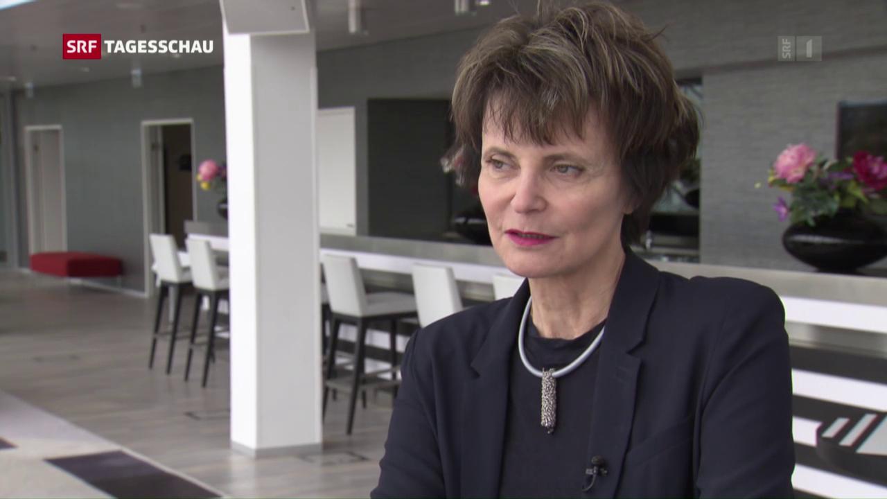 Micheline Calmy-Rey zu den Verhandlungen mit der EU