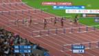 Video «Leichtathletik: Weltklasse Zürich, 100 m Hürden Frauen» abspielen