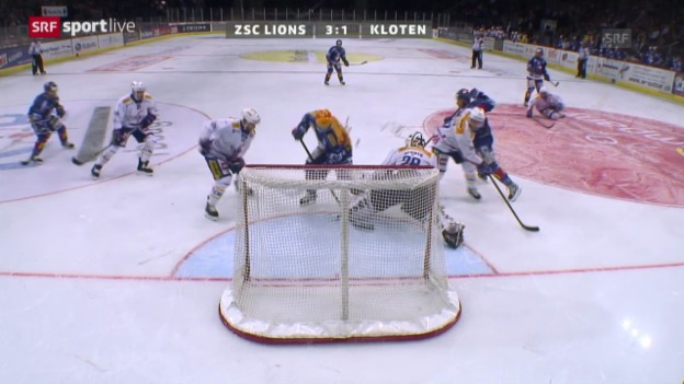 Video «NLA: ZSC Lions - Kloten Flyers» abspielen