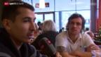 Video «Fussball: Das Romand-Quartett bei St. Gallen» abspielen