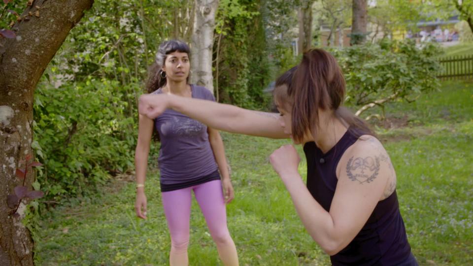 «Achtung, fertig, fit!» mit Boxerin Aniya Seki