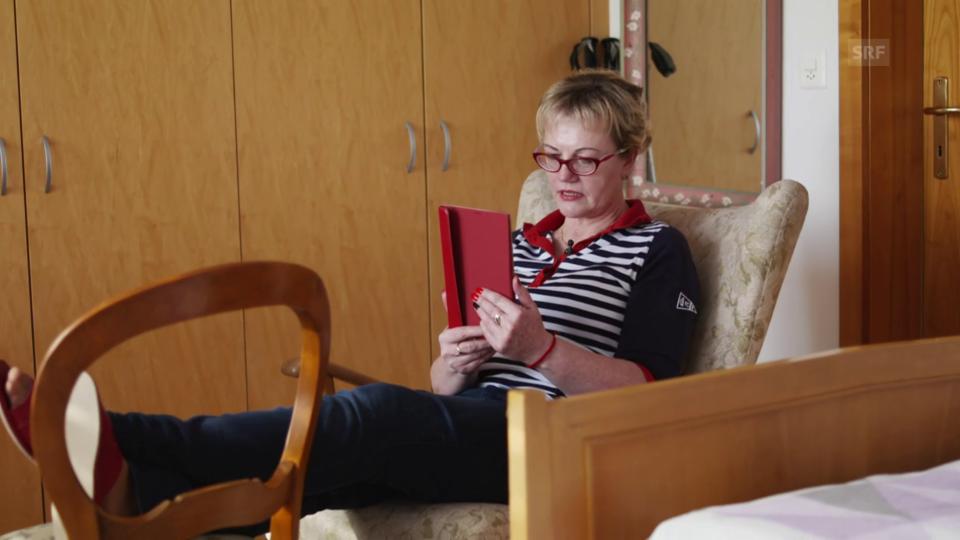 Jadwiga Kowalewska nutzt ihre Freizeit gerne um Kontakte in der Heimat zu pflegen. Manchmal kann sie sogar kleine Ausflüge machen.