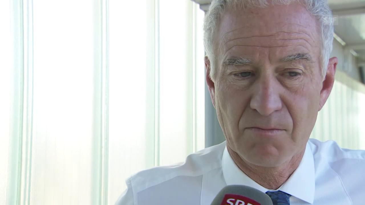McEnroe: «Bei Wawrinka kriege ich Gänsehaut»