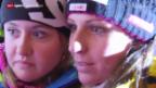 Video «Ski: Marianne Kaufmann-Abderhalden geniesst ihren Triumph» abspielen
