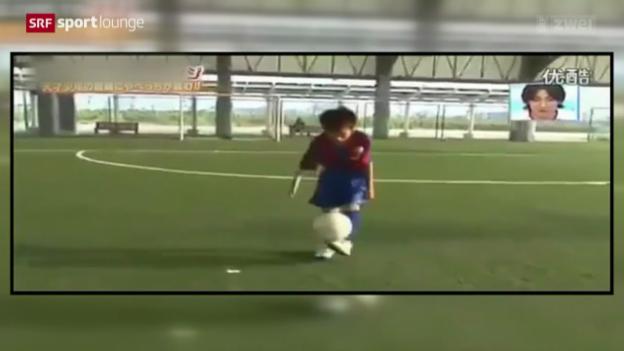 Video «Fussball – Kinderhandel, ein weltweites Problem» abspielen