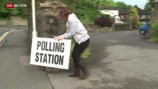 Video «Start der Europawahlen» abspielen
