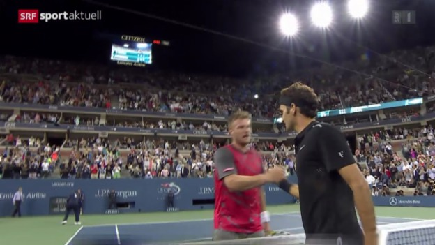 Video «Tennis: US Open New York» abspielen
