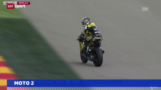 Video «Motorrad: GP Aragon, Qualifying Moto2» abspielen