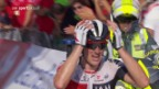Video «Frank triumphiert bei Vuelta solo» abspielen