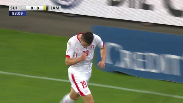 Video «Fussball: Schweiz-Jamaika, Highlights» abspielen