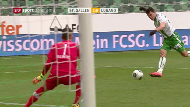 Video «Aleksics Rückrunden-Tore bis dato» abspielen