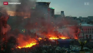 Video «Keine Beruhigung in Kiew» abspielen