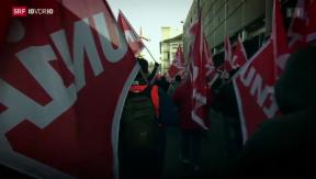 Video «Streik nicht immer freiwillig» abspielen