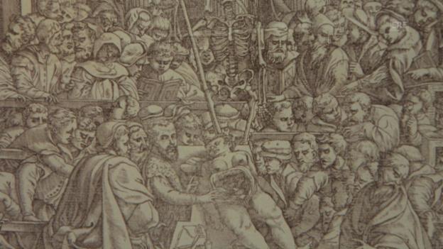 Video «Mehr als 470 Jahre alt – das Skelett in Basel (SRF)» abspielen