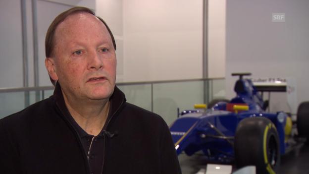 Video «Robert Höpoltseder nimmt Stellung zur Krise bei Sauber» abspielen