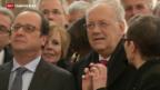 Video «Hollande bietet Schweiz Unterstützung bei Streit um Bilaterale an» abspielen