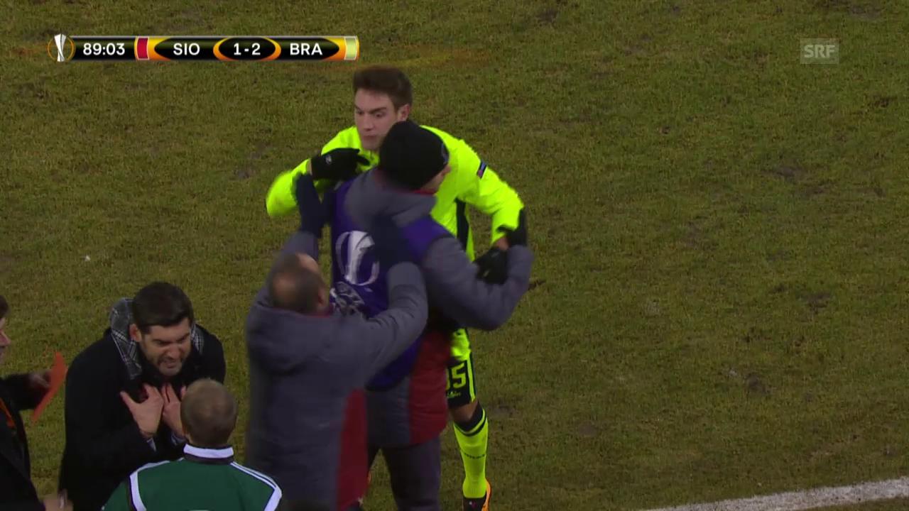 Vukcevic wird Opfer von Missverständnis