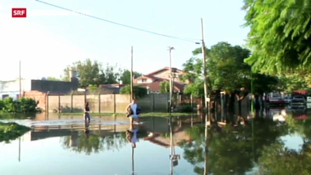 Video «Überschwemmungen in Buenos Aires» abspielen
