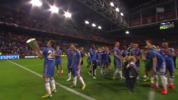 Video «Zusammenfassung Chelsea - Benfica» abspielen