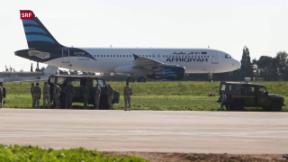 Video «Entführung eines lybischen Flugzeugs nach Malta» abspielen