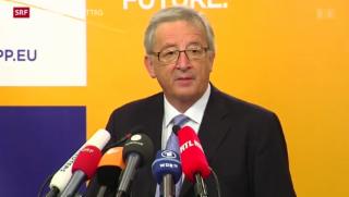 Video «Gerangel um EU-Kommissionspräsidium» abspielen
