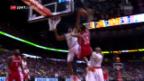 Video «Sefolosha reisst das Schweizer NBA-Duell an sich» abspielen