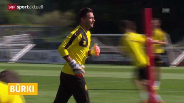 Video «Fussball: Roman Bürki Nummer 1 bei Dortmund» abspielen