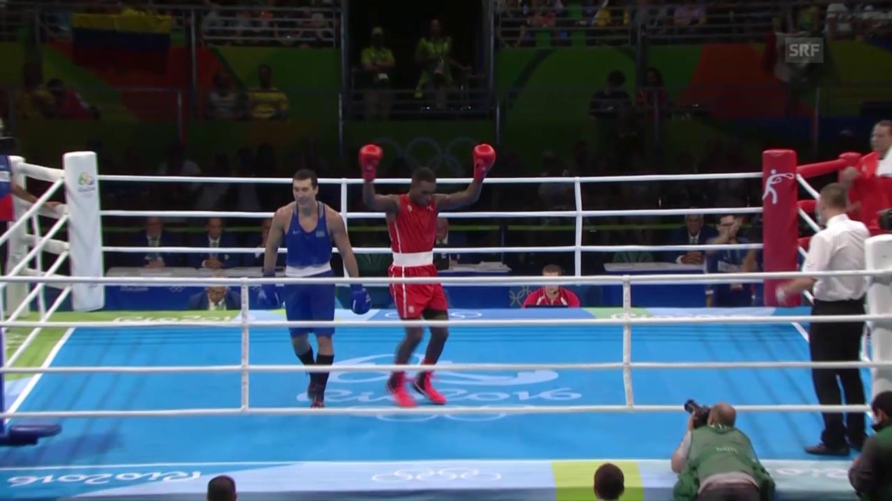 Julio La Cruz gewinnt den Kampf um Gold