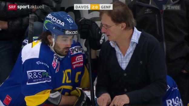 Video «Eishockey: NLA, Davos - Genf» abspielen