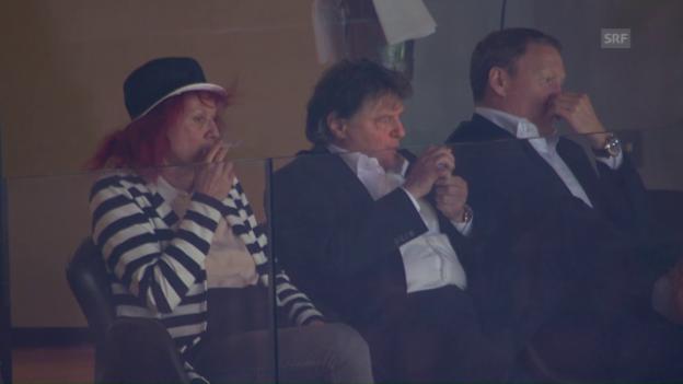 Video «Nach dem 0:1 durch Alioski reagiert Canepa noch gelassen» abspielen