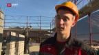 Video «Der beste Maurer Europas kommt aus dem Wallis» abspielen