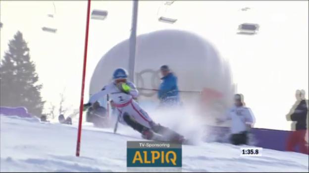 Video «WM-Slalom Frauen 2011: Marlies Schild» abspielen