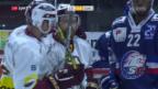 Video «ZSC Lions verlieren auch gegen Genf mit 3:4» abspielen