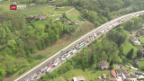 Video «Gasleck verursacht Verkehrschaos» abspielen