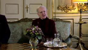 Video «Königin Margrethe äussert sich zum Attentat in Kopenhagen» abspielen