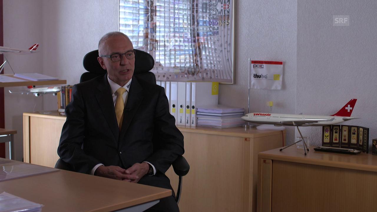 Peter Thurnherr von thuba AG: «Über Nacht 17 Prozent teurer.»
