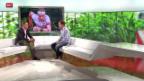 Video «Studiogast: OL-Gesamtweltcupsieger Daniel Hubmann , Teil II» abspielen