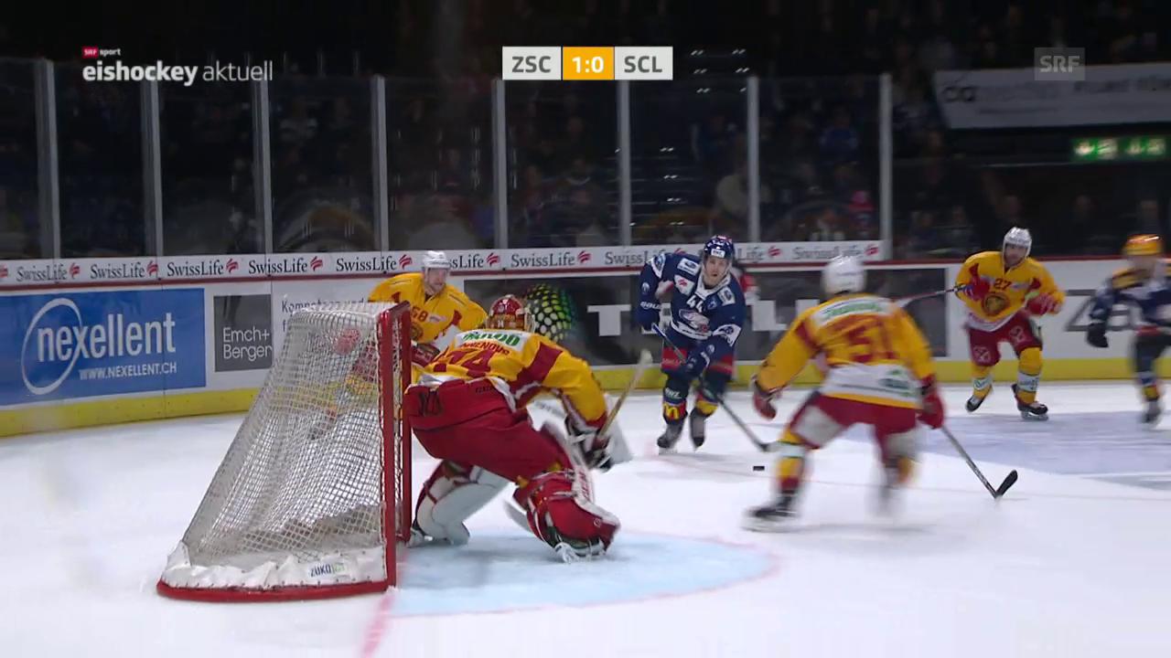 ZSC Lions mit zu knappem Sieg gegen Langnau