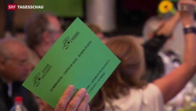 Video «Grüne sagen Nein zu Ecopop-Initiative» abspielen