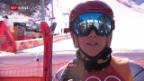 Video «Ester Ledecka holt Gold im Super-G» abspielen