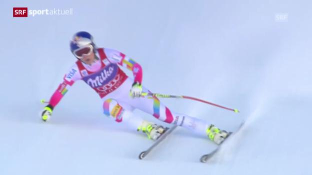 Video «Abfahrt Val d'Isere: Der Rennbericht» abspielen