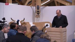 Video «Hohe Erwartungen an neuen Landwirtschaftsminister Guy Parmelin» abspielen