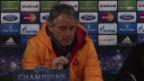 Video «Mancini und Snejider über das Chelsea-Spiel (Quelle: SNTV)» abspielen